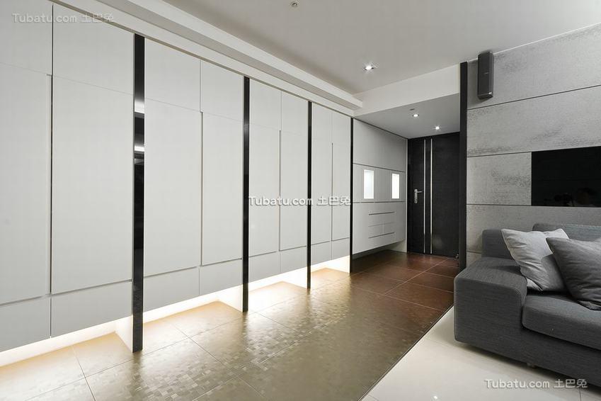 最新现代玄关装修效果图片
