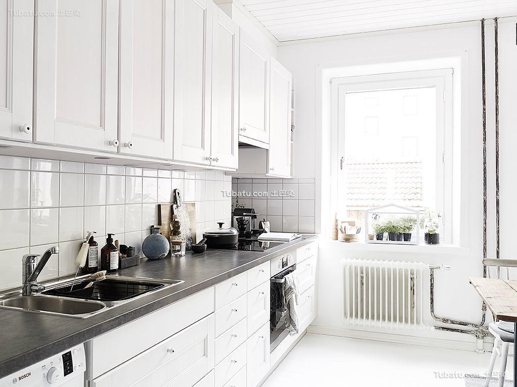 北欧风格厨房装修展示