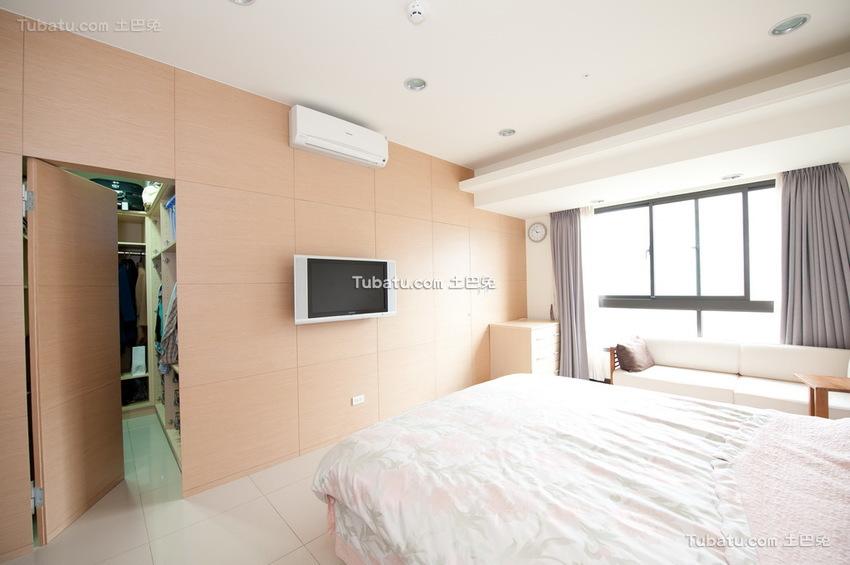 装修5平米卧室隐形门
