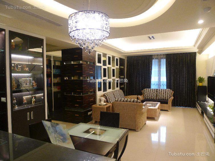 东南亚设计两居室欣赏