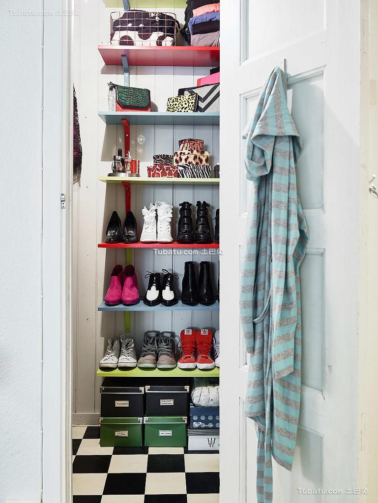 简洁北欧风格衣柜