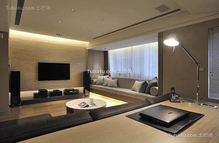 装修时尚现代四居室