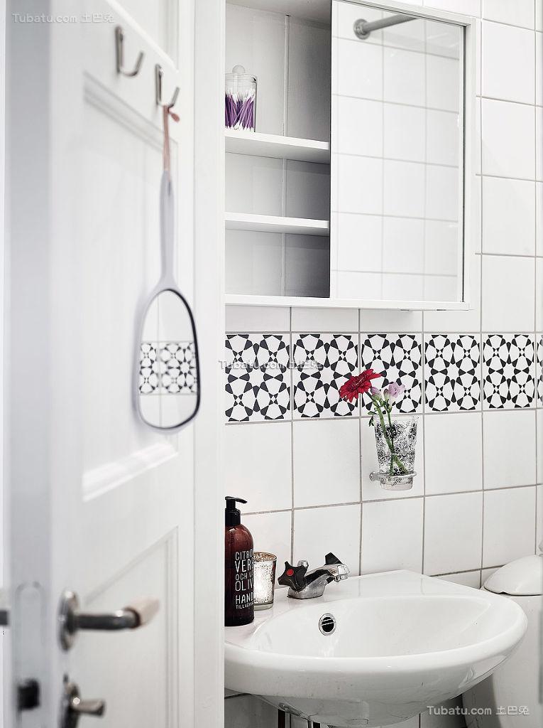 简洁北欧风格卫生间装修
