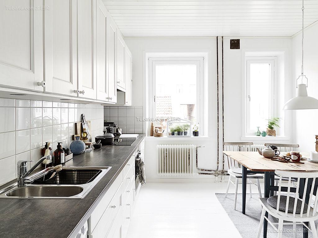 厨房北欧风格装修案例