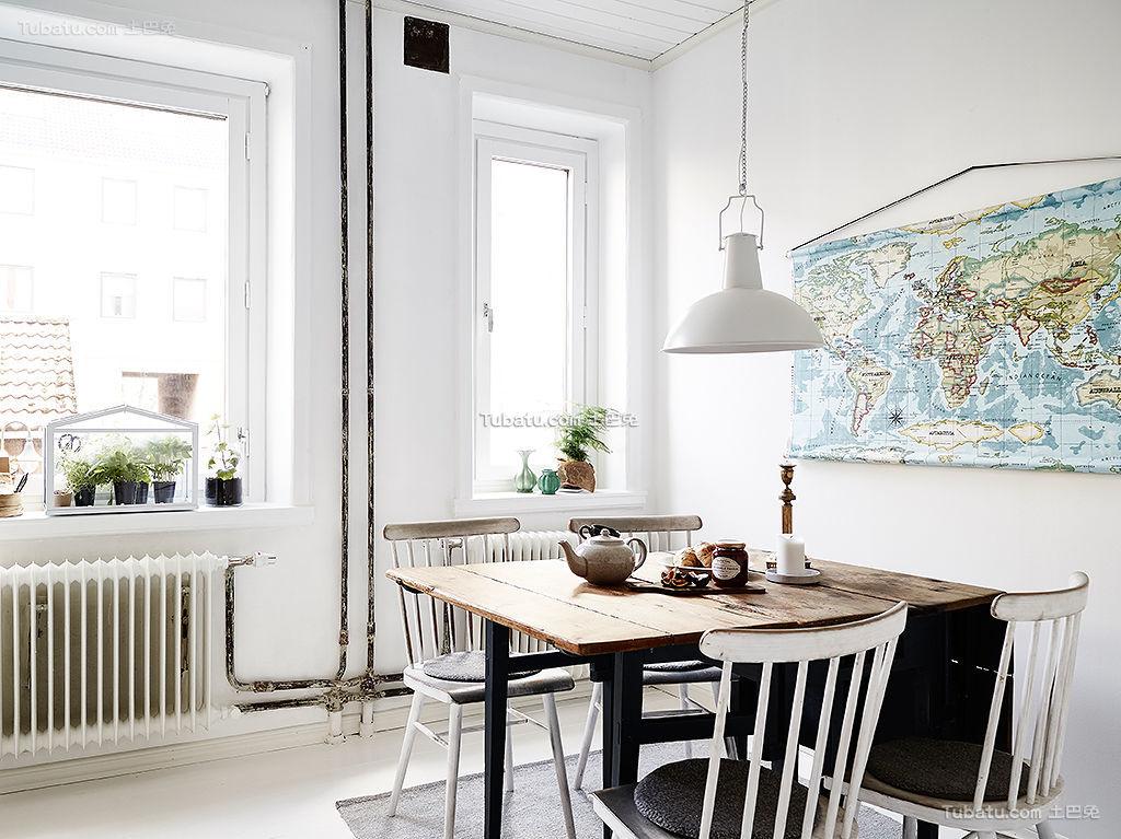 餐厅北欧风格装修案例