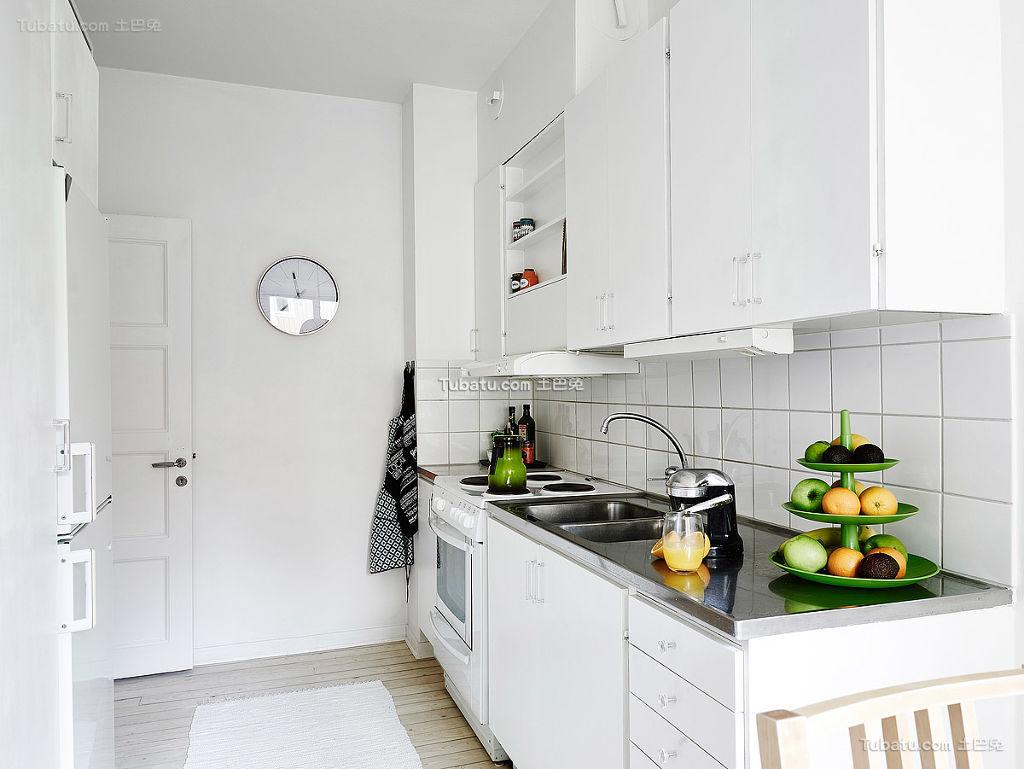 简洁厨房北欧风格装修