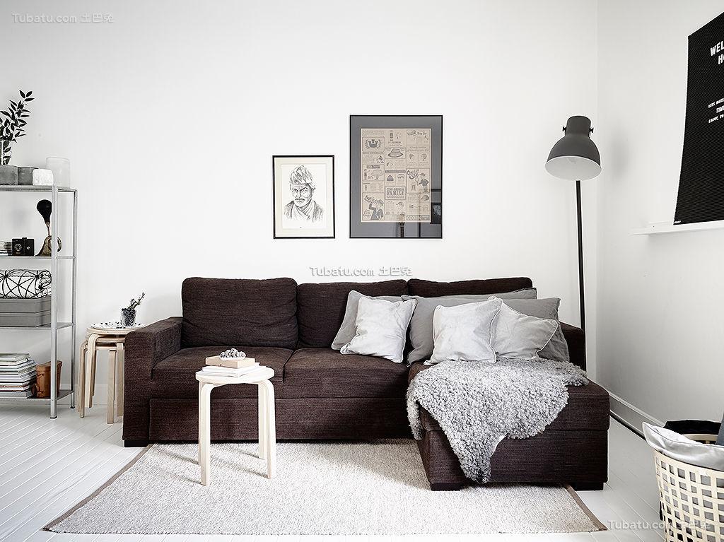 客厅北欧风格装修