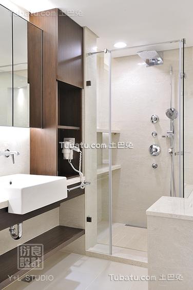 简单设计2平米卫生间