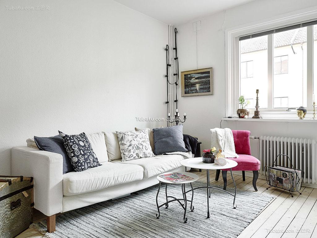 一居室简洁北欧风格装修