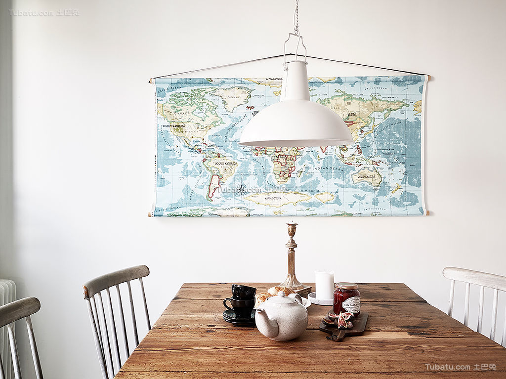 北欧风格餐厅装饰展示