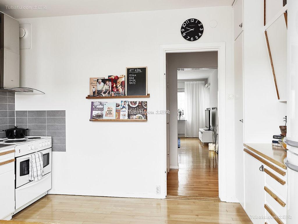 北欧风格厨房装修典例
