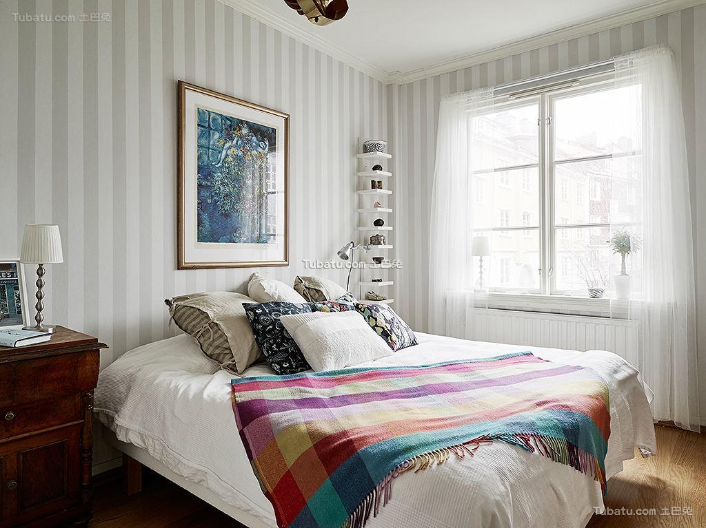 北欧简洁卧室设计展示