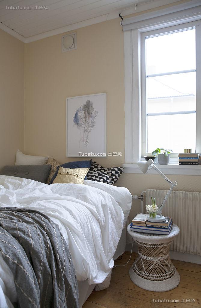 清新北欧卧室装修案例