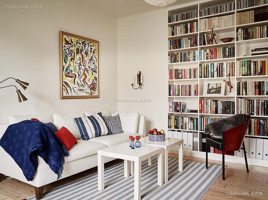 北欧简洁客厅设计展示