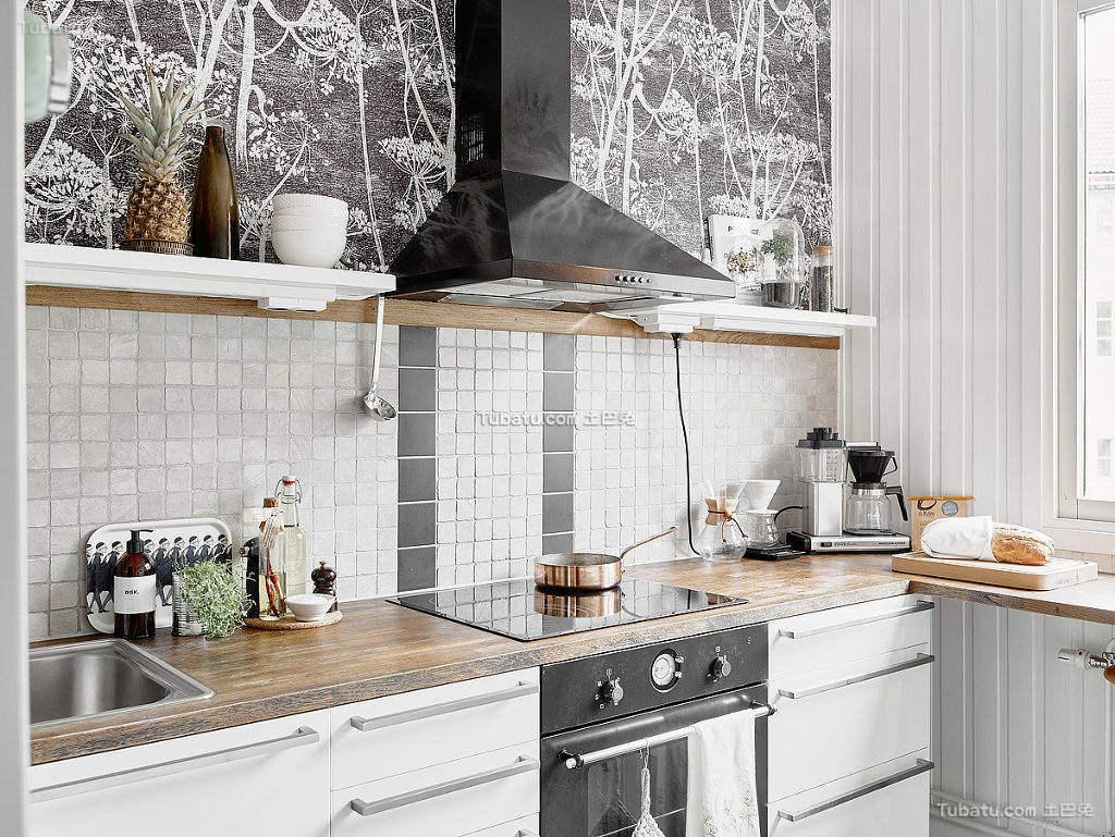 简洁北欧厨房装修