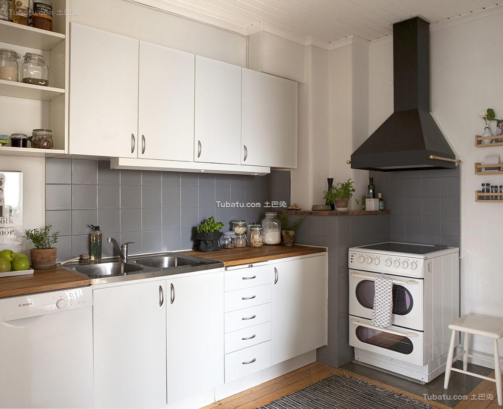 北欧风格家居厨房装修案例