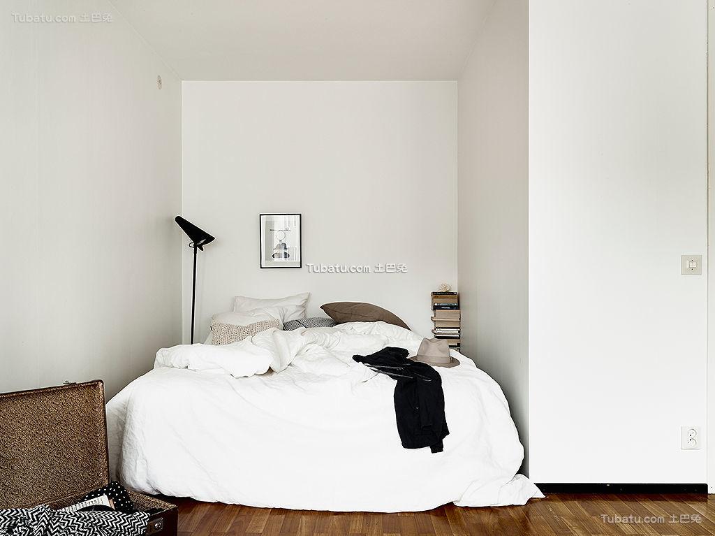 北欧艺术家创意卧室装修