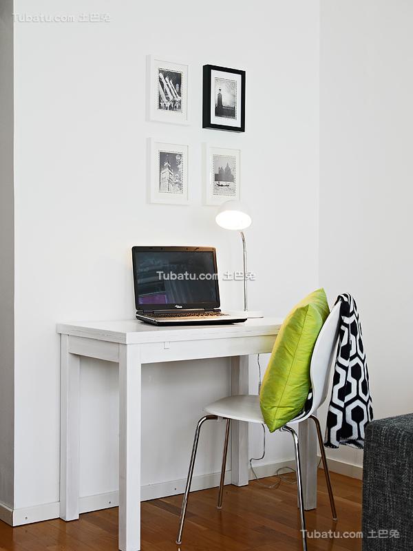 北欧家居电脑桌装修案例
