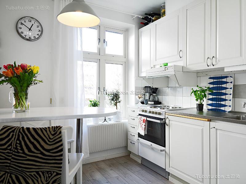 北欧家居厨房装修案例