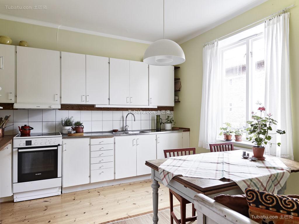 厨房装修北欧风格效果图展示