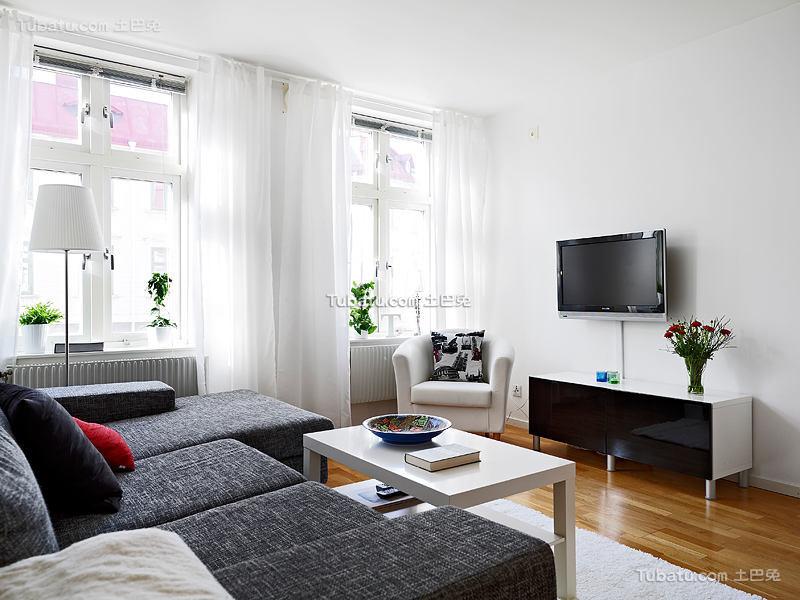 北欧小户型家居装修案例