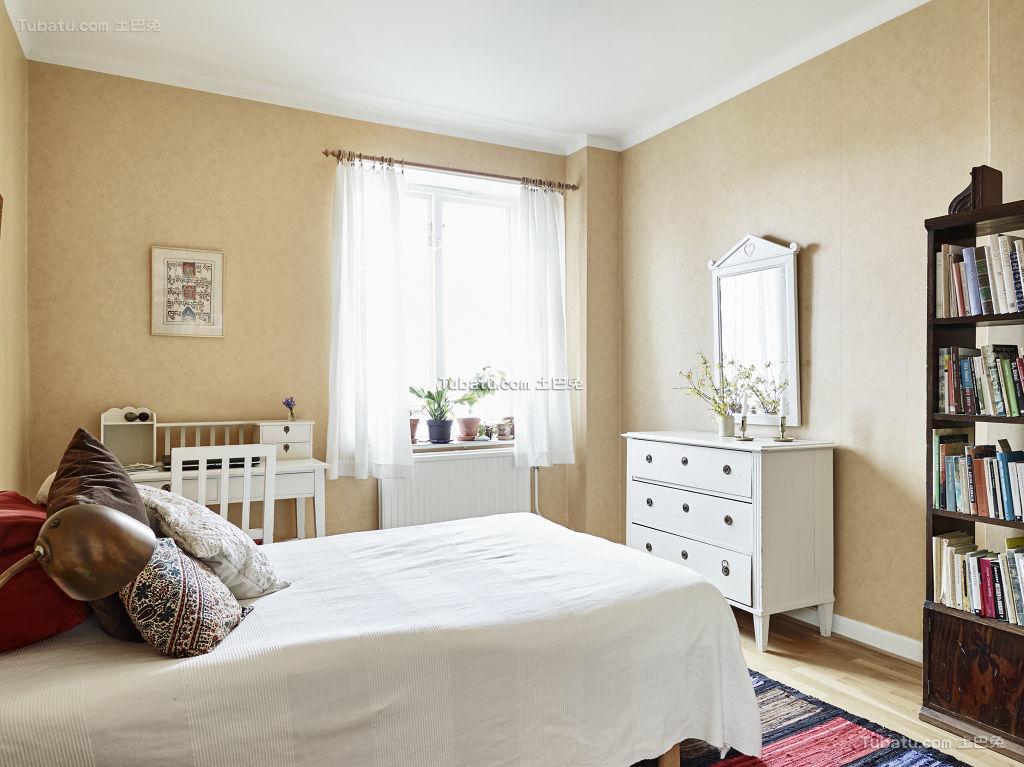温馨唯美北欧卧室装修