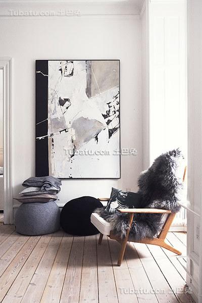 北欧风格家居休闲室装修案例