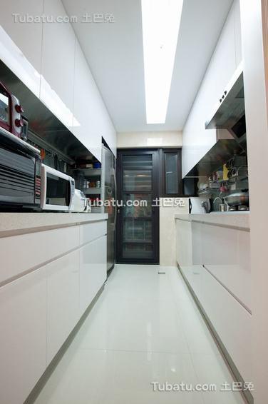 简约风格厨房室内图片