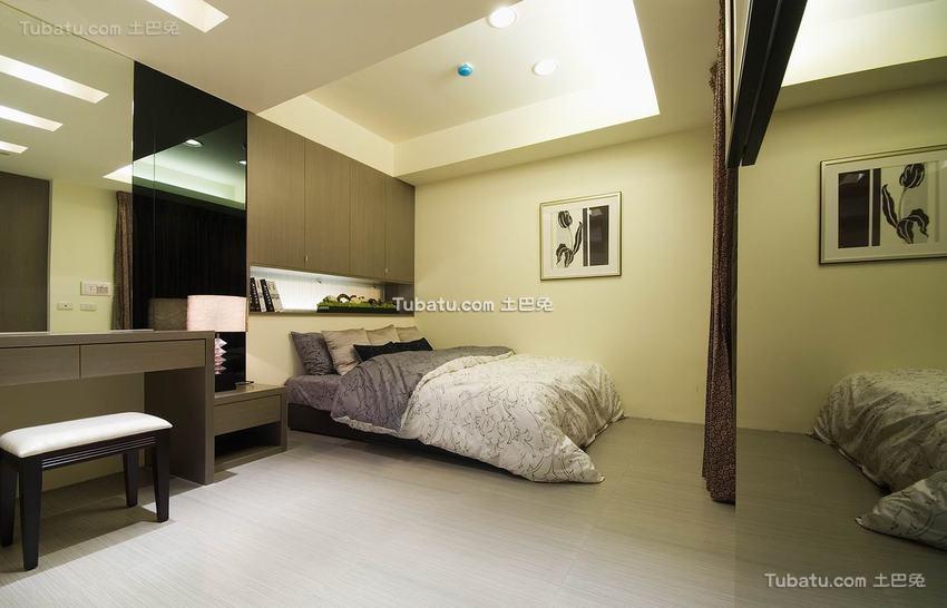 最新现代风格卧室装修效果图片