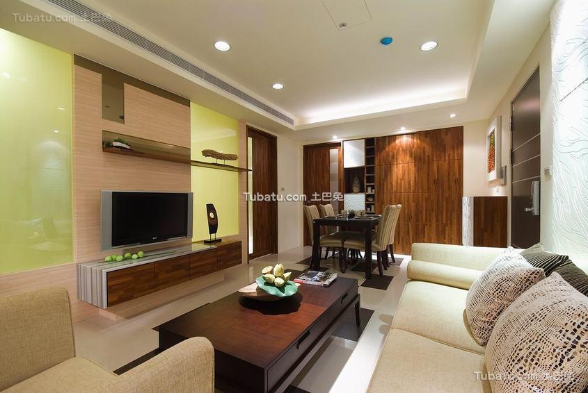 现代风格舒适客厅室装修图片