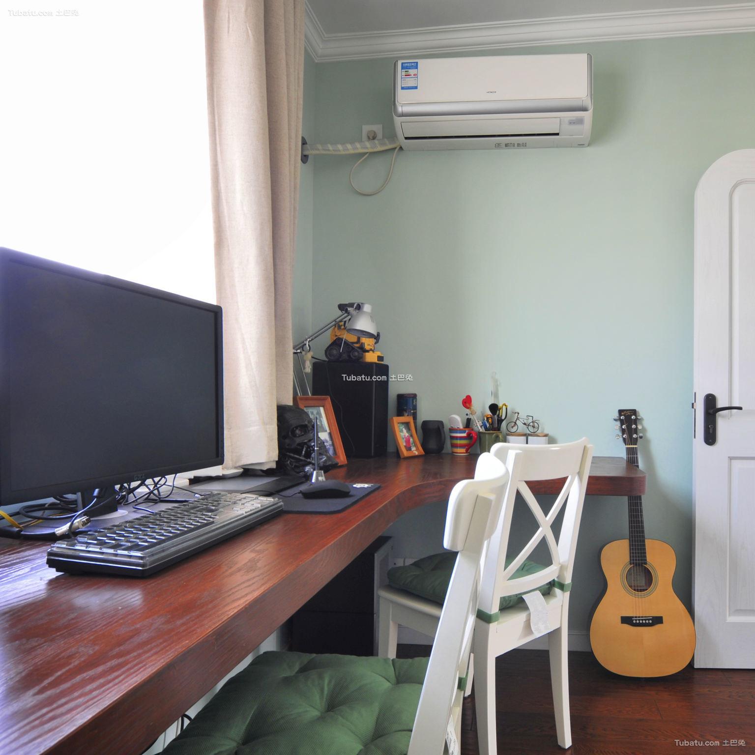 地中海书房家居装修效果图
