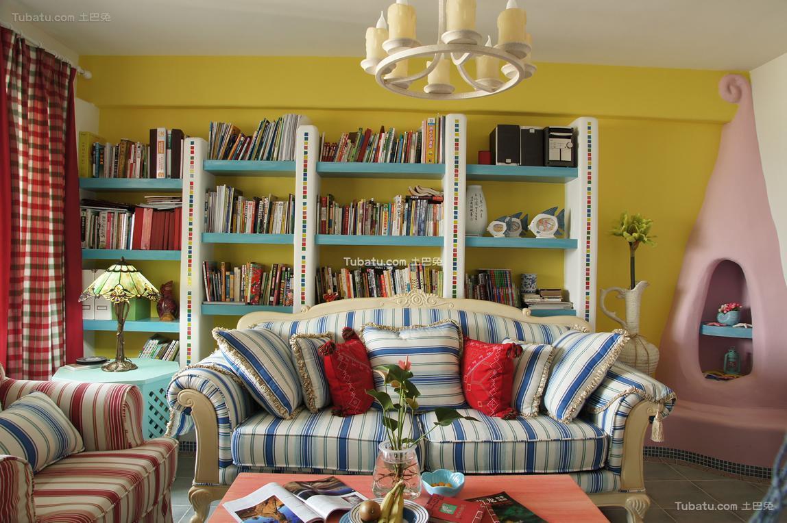 童趣地中海90平两居室装修案例