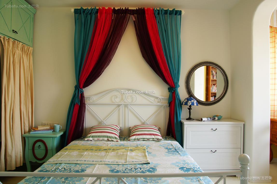 童趣地中海卧室装饰装修