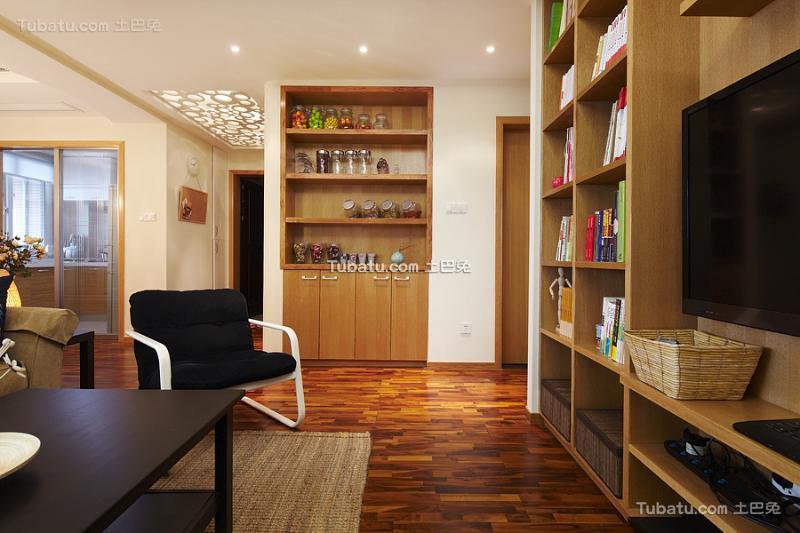 现代温馨两居室居家装修