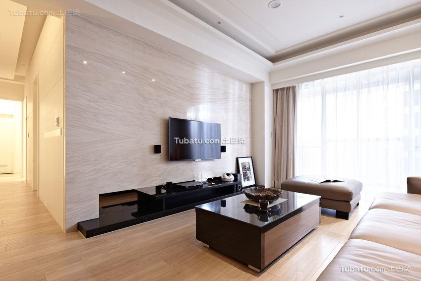 2018现代四居室装修案例