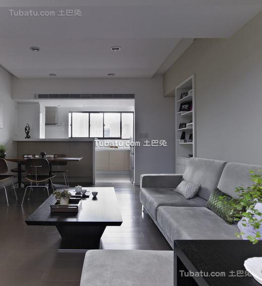 现代别墅室内家装效果图片