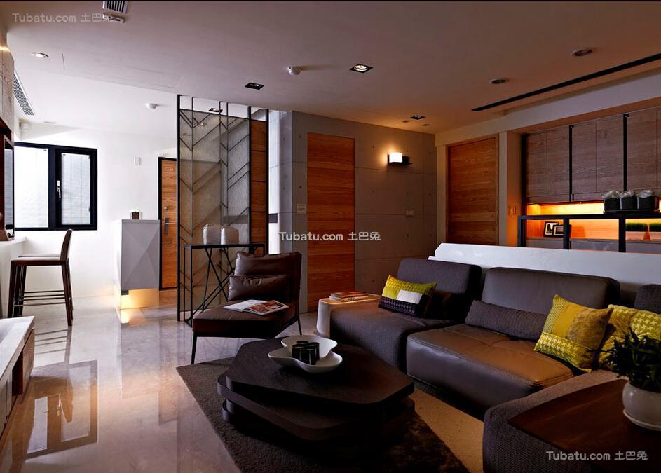 休闲现代客厅装修案例