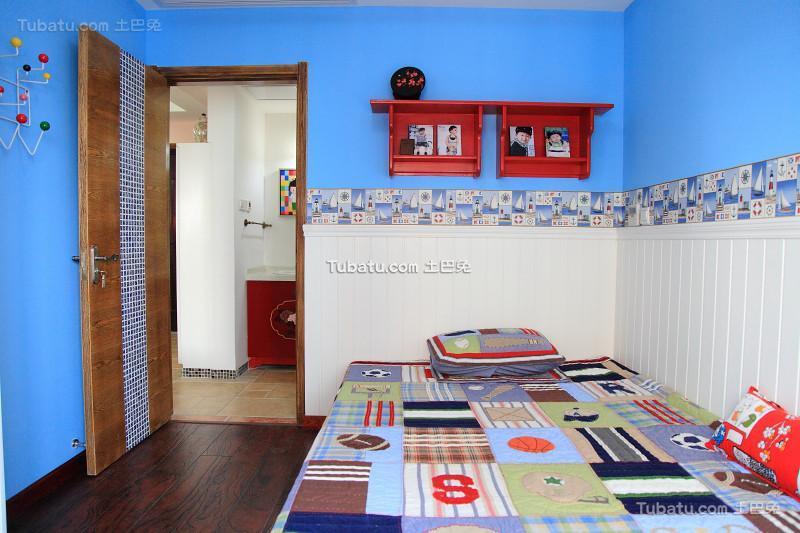 地中海风格儿童房设计