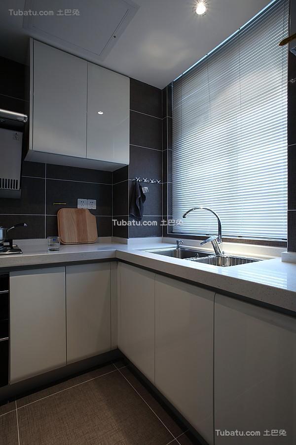 简洁精致现代厨房装修