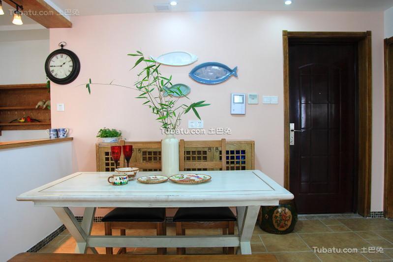 轻中式家居餐厅装修设计