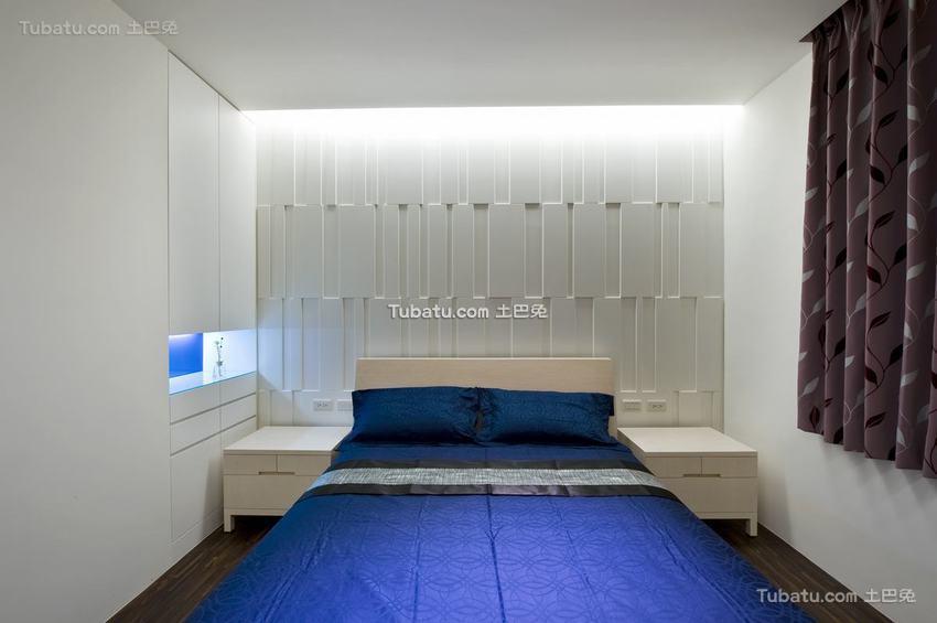 现代室内卧室家居布置图片