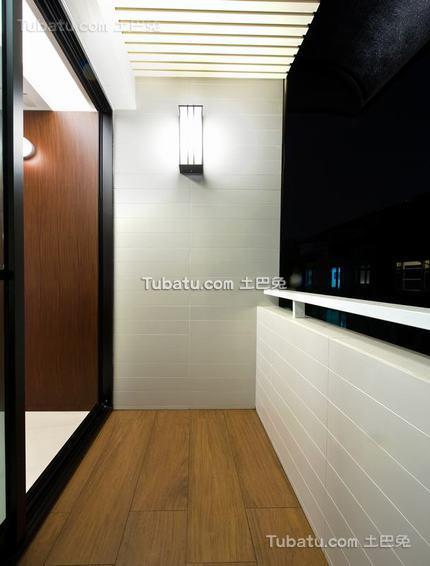现代公寓壁灯家居布置图片