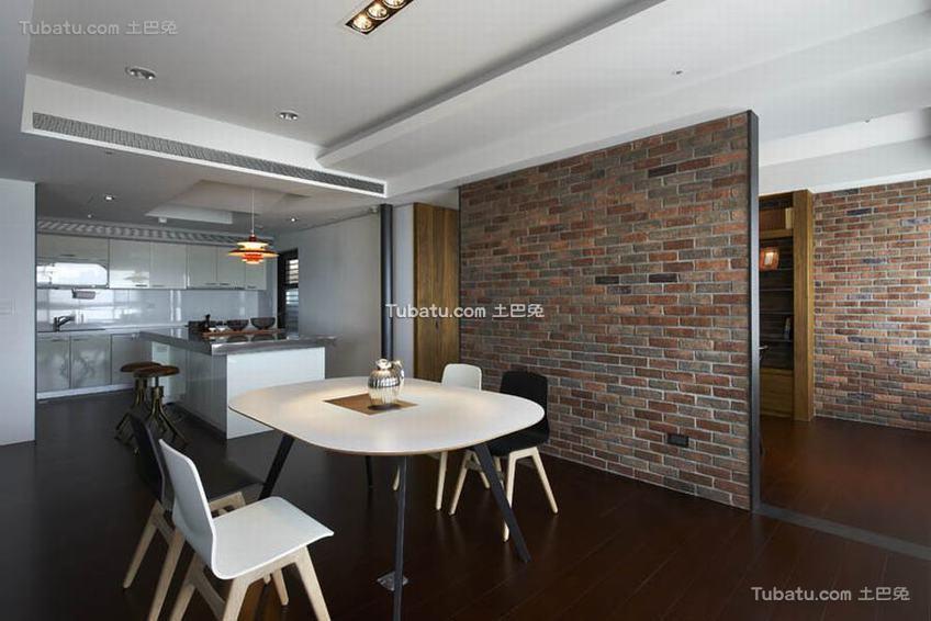 现代简约餐厅室内家装图片