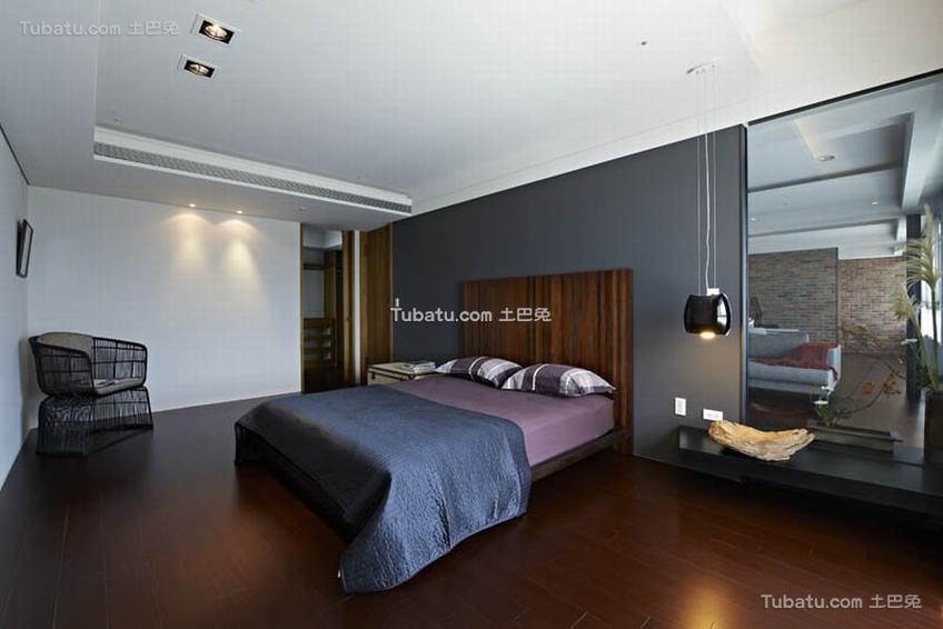 现代简约公寓室内卧室家装图片