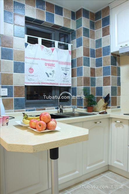 地中海马赛克厨房装修案例