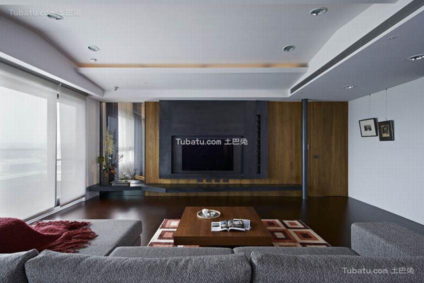 现代简约公寓室内家装图片