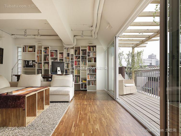 现代简约别墅室内家居装修图片