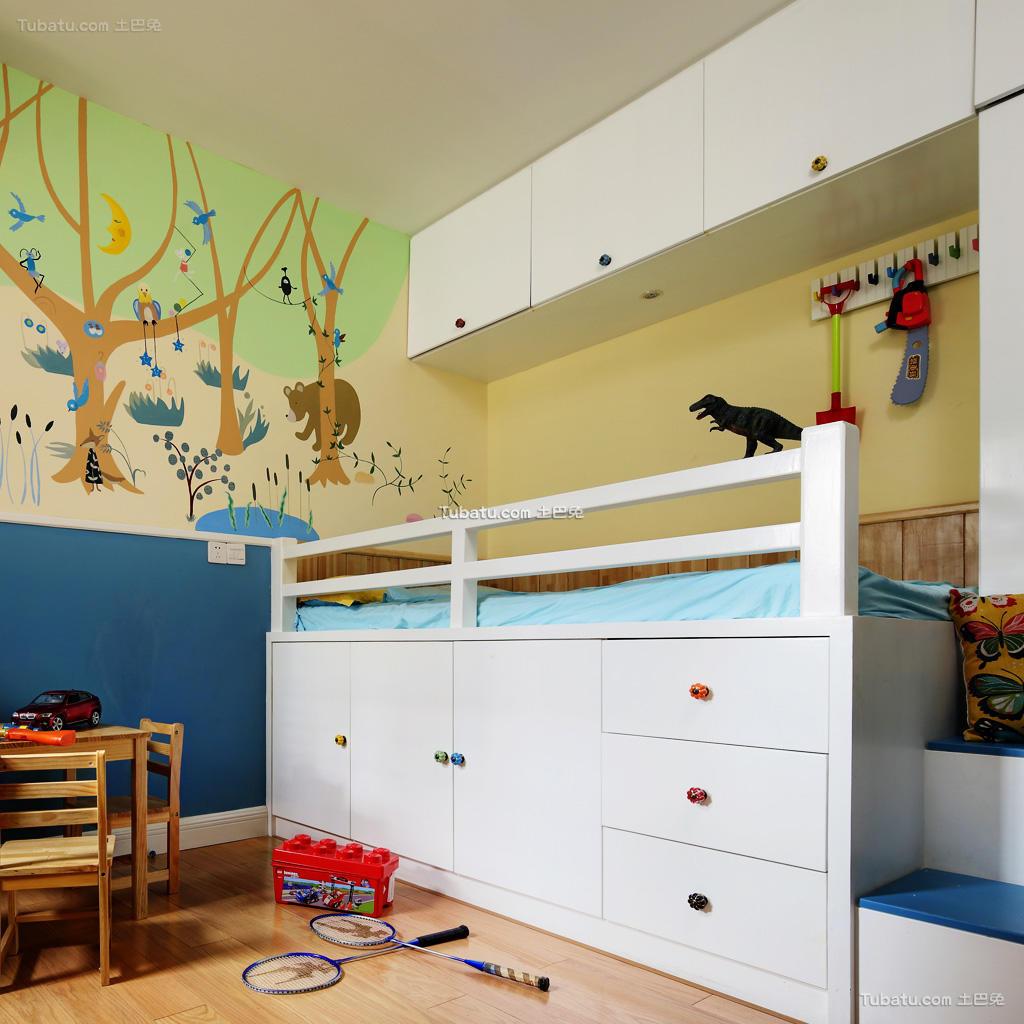 混搭可爱儿童房装修案例