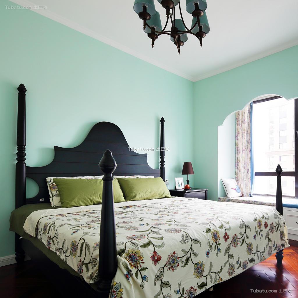 清新靓丽卧室混搭装修案例
