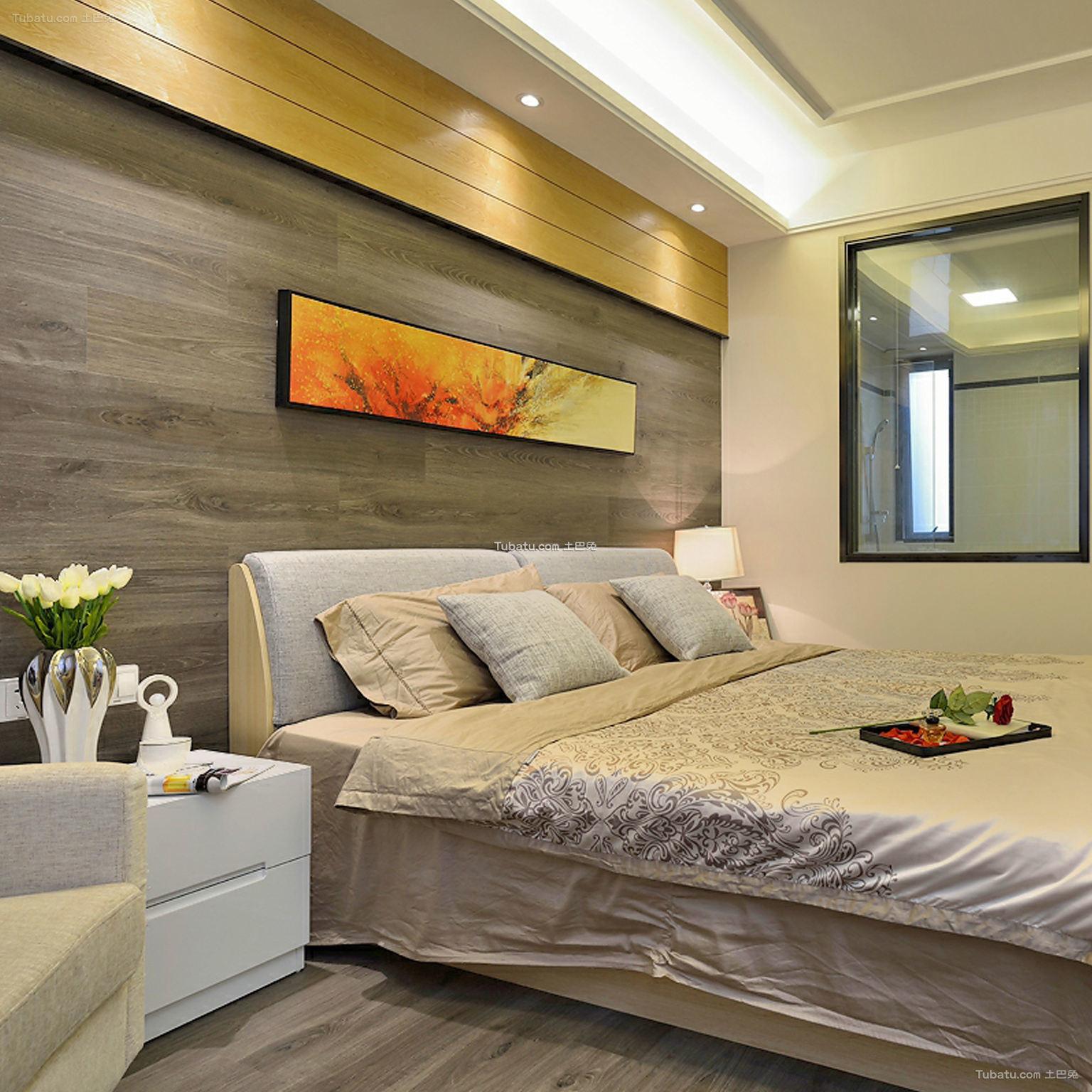 精致时尚现代卧室装修